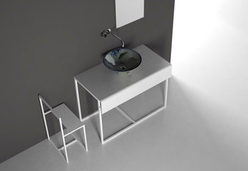 Meuble avec vasque Modulo 113