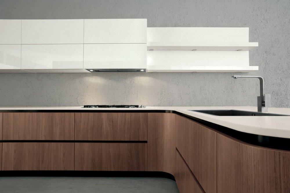 Mobili per cucina cucina sidney b da doimo cucine for Doimo cucine bolzano