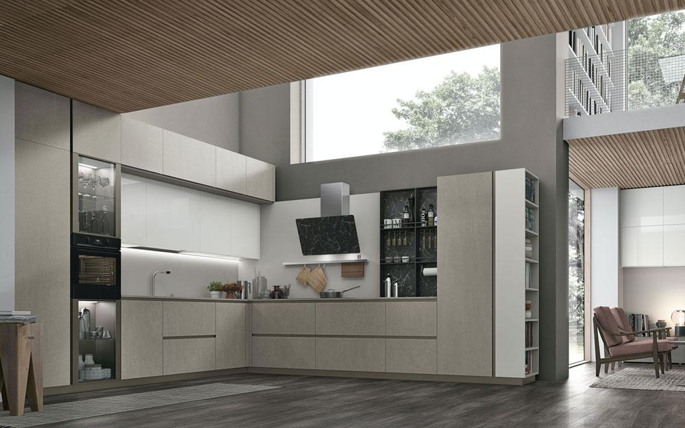 Mobili per cucina cucina aliant da stosa - Mobili per cucinino ...