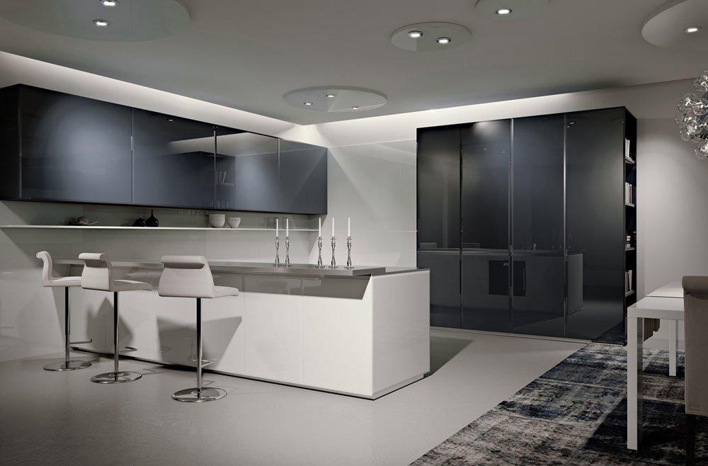 Mobili per cucina cucina conchiglia gem da scic - Scic cucine outlet ...