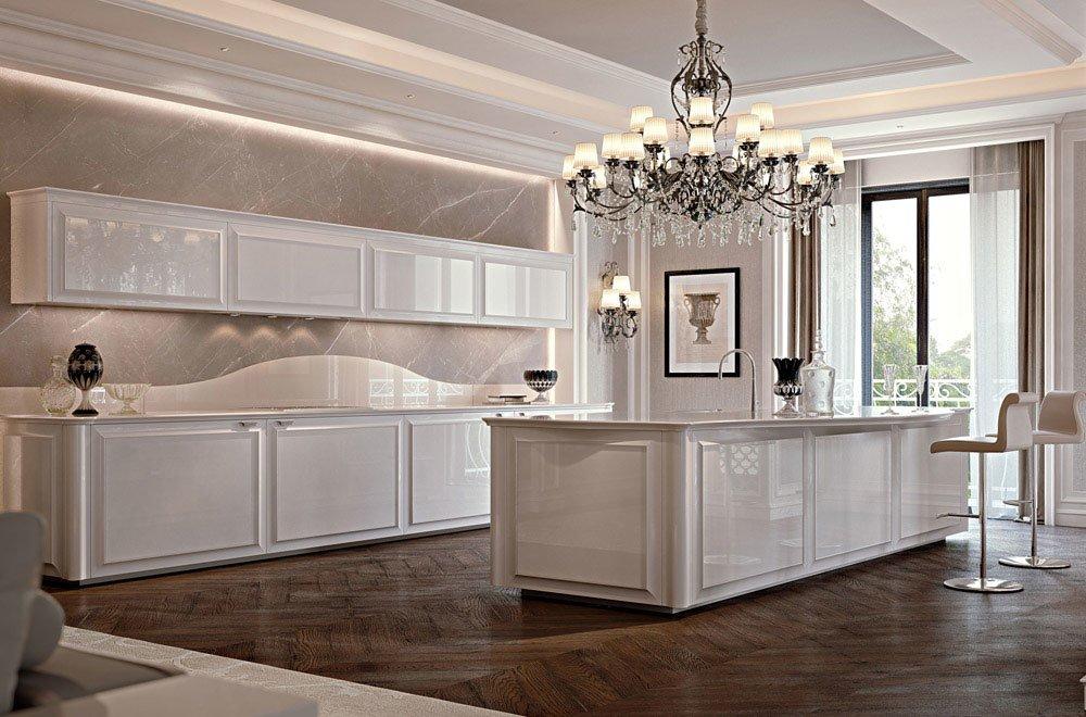 Mobili per cucina cucina diamond da scic - Cucine lussuose moderne ...