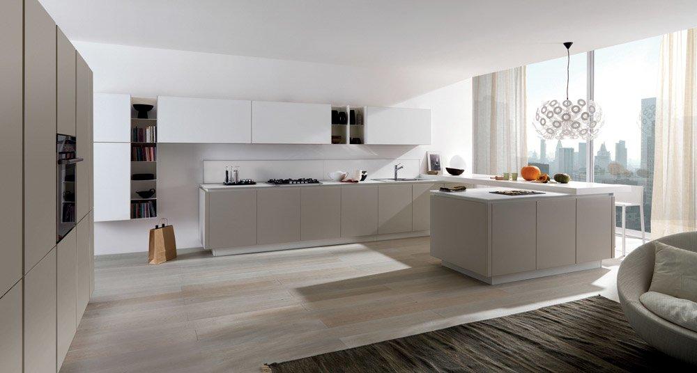 Mobili per cucina cucina filoescape b da euromobil cucine - Cucine euromobil ...
