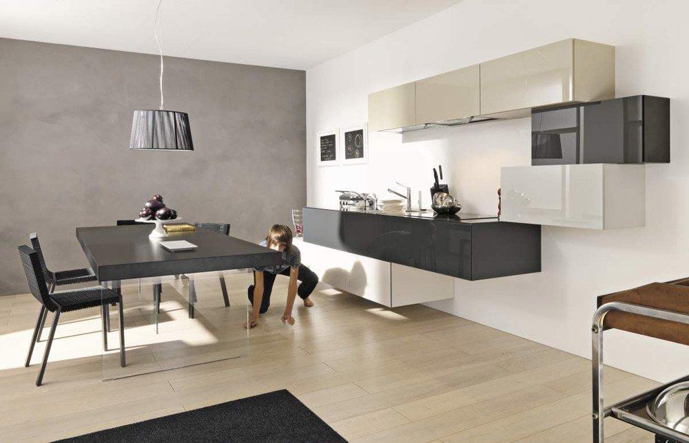 mobili per cucina cucina 36e8 da lago. Black Bedroom Furniture Sets. Home Design Ideas