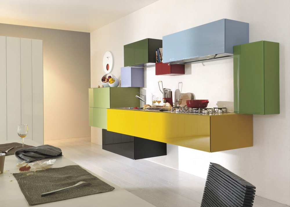 Modular kitchens kitchen 36e8 by lago for Lago furniture