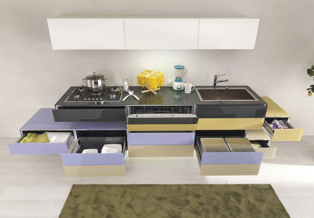 Mobili per cucina cucina 36e8 da lago for Mandarini arredamenti