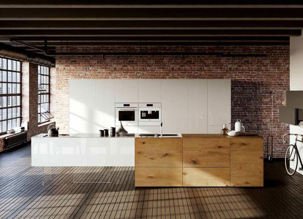 Mobili Per Cucina: Cucina 36E8 Wildwood Kitchen [A] da Lago