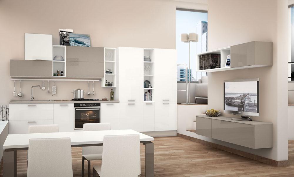 Mobili per cucina cucina noemi da lube cucine - Mobili per cucina ...