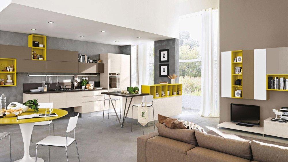 soggiorno e cucina separati ~ dragtime for . - Mobili Soggiorno E Cucina Insieme 2
