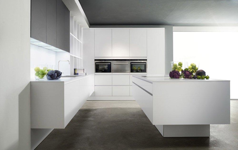 eggersmann k chenm bel k che modern laminat reinweiss. Black Bedroom Furniture Sets. Home Design Ideas