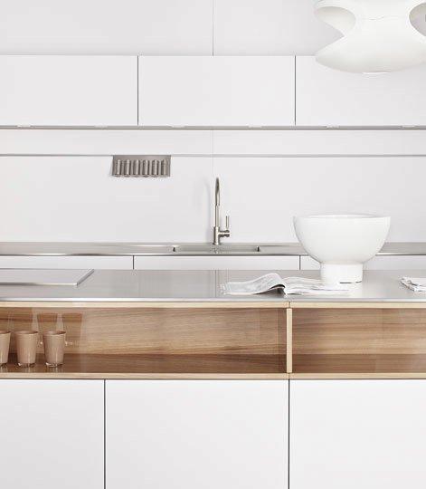 mobili per cucina cucina modern edelstahl ulme da eggersmann. Black Bedroom Furniture Sets. Home Design Ideas