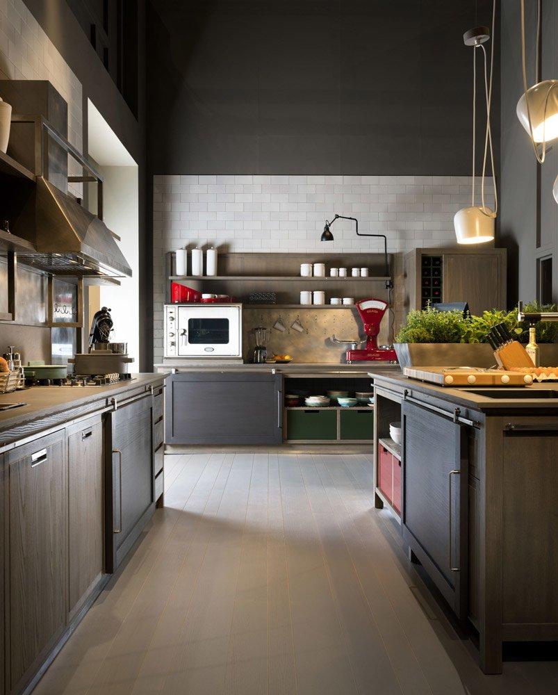 Mobili per cucina cucina industrial chic b da l 39 ottocento - L ottocento mobili ...