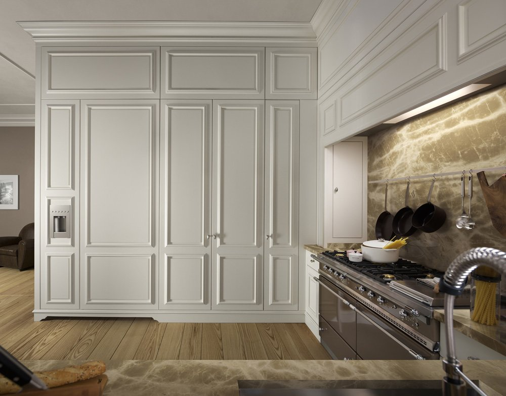 Mobili per cucina cucina floral b da l 39 ottocento - L ottocento mobili ...