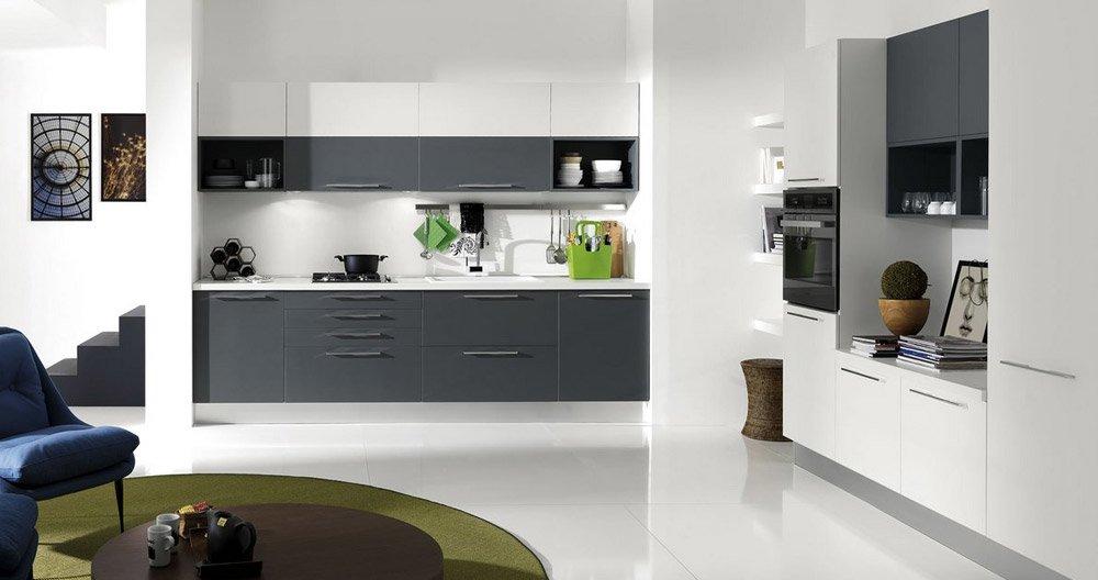 Mobili per cucina cucina bilma evo da aran cucine - Aran cucine roma ...