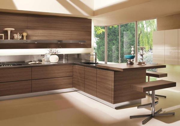 Mobili per cucina: Cucina High Teak [c] da Salvarani