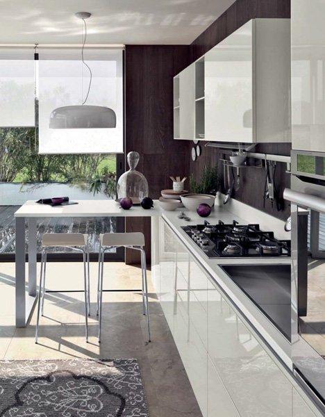 Mobili per cucina cucina liberamente a da scavolini - Mobili per cucina ...