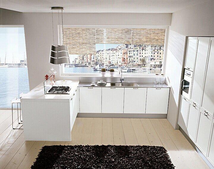 Mobili per cucina cucina green a da spagnol cucine for Green arreda