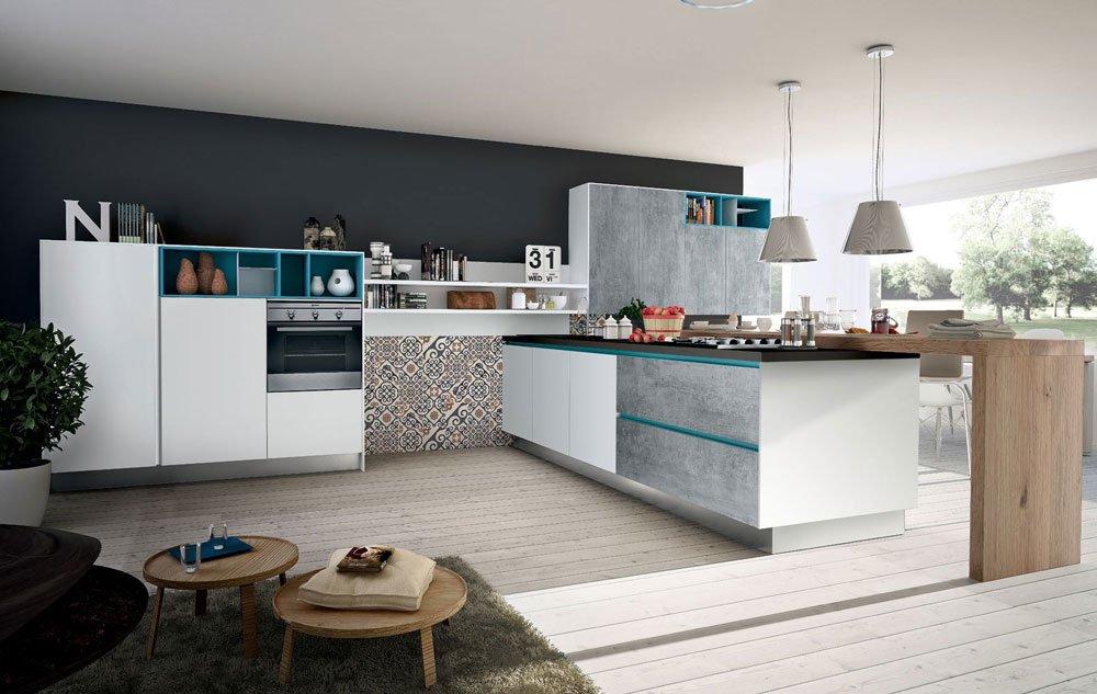 ... cucina tival [a] da dada. Mobili per cucina: cucina orange family [b