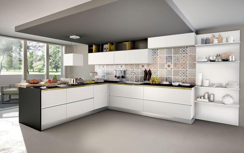 Mobili per cucina cucina baltimora c da spagnol cucine for Designbest outlet