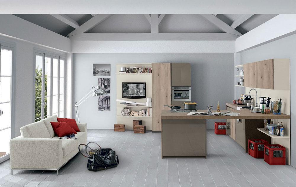 Mobili per cucina: Cucina Vivere Italia [d] da Spagnol Cucine