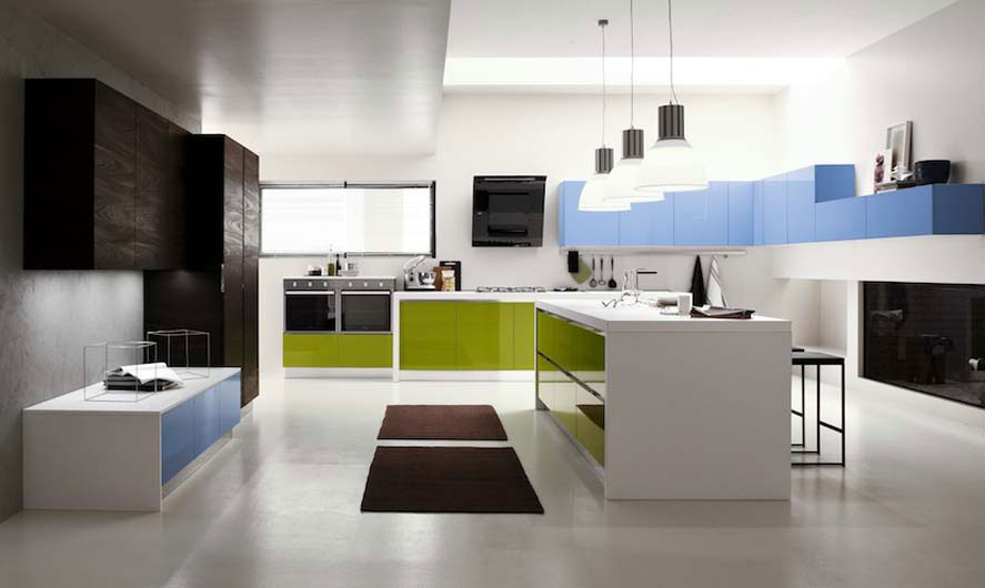 Progettazione cucine moderne roma ciminelli casa anche le - Isole per cucine moderne ...