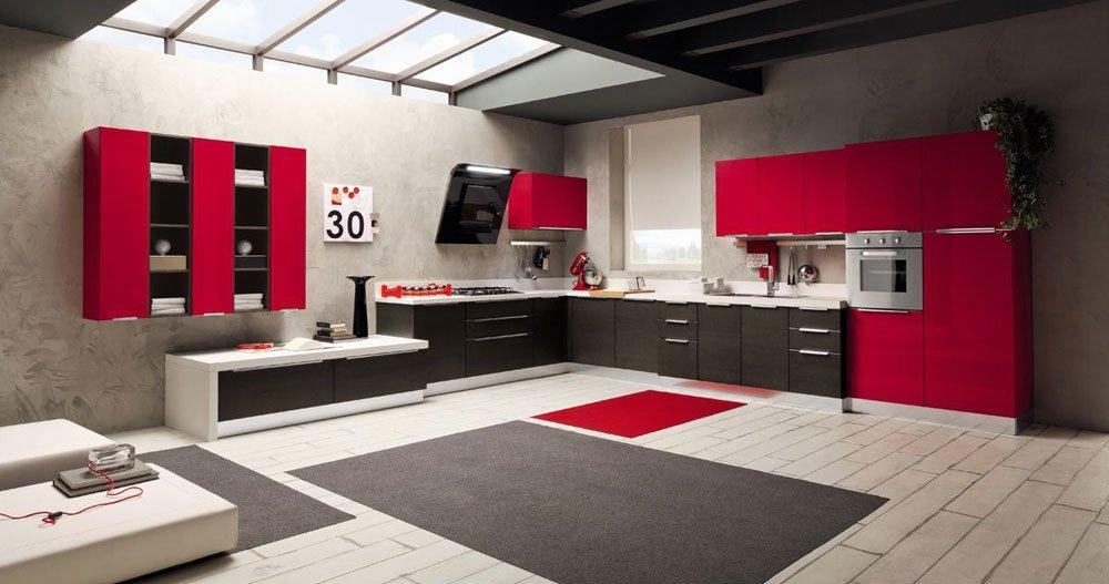 Progettazione cucine moderne roma e soluzioni su misura - Casa piu arredamenti ...