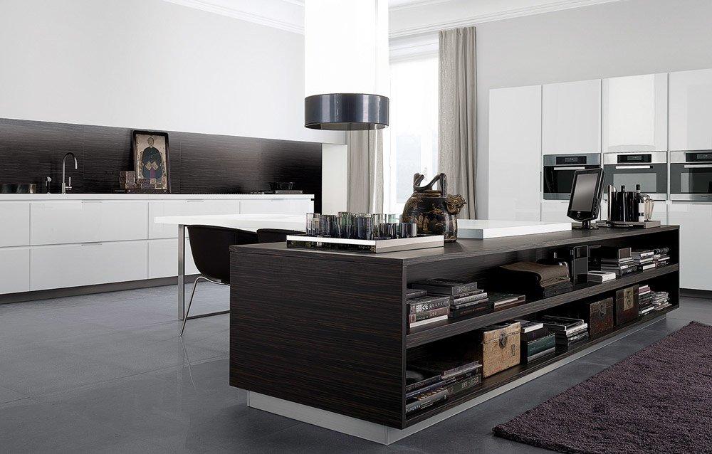 Modular kitchens kitchen matrix d by varenna poliform for Poliform kitchen designs
