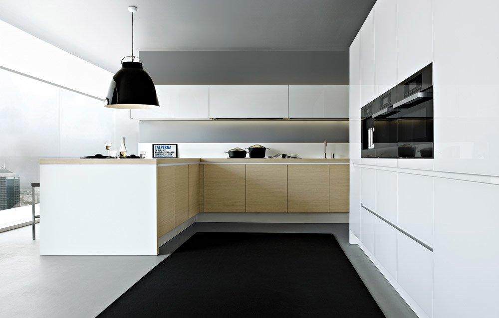 Modular kitchens kitchen alea d by varenna poliform for Poliform kitchen designs