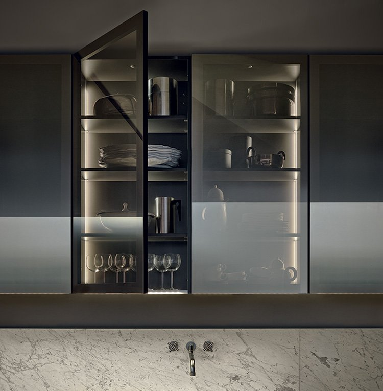 Modular Kitchens Kitchen Minimal A By Varenna Poliform