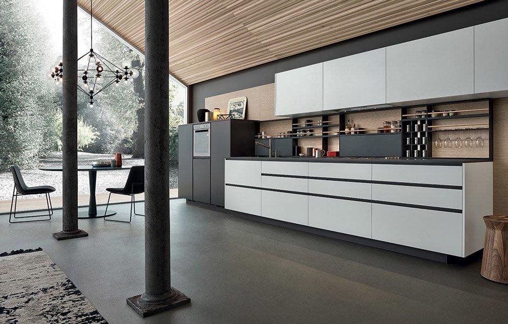 Modular kitchens kitchen my planet c by varenna poliform for Poliform kitchen designs