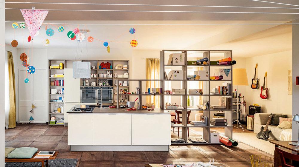 Casa moderna roma italy laminato plastico termoformato - Laminati per cucina ...
