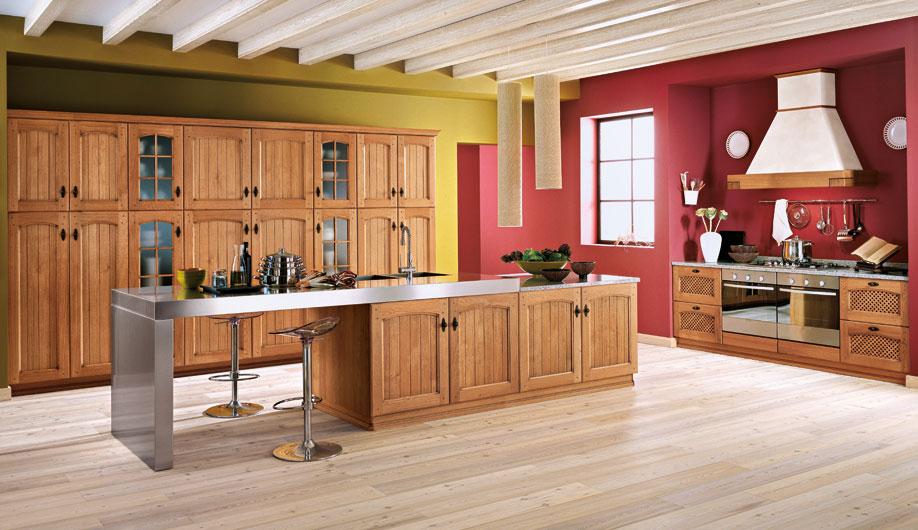 Mobili per cucina cucina morgana da arrex 1 for Pittura per cucina classica