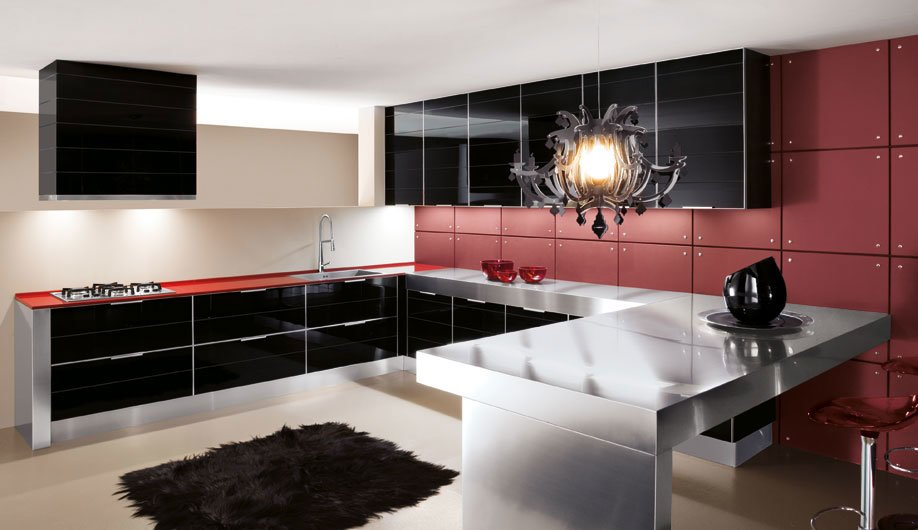 Mobili per cucina cucina cristallo da arrex 1 - Ante in vetro cucina ...