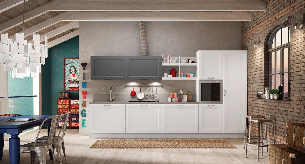 Mobili per cucina cucina ginevra da berloni for Cucine berloni roma
