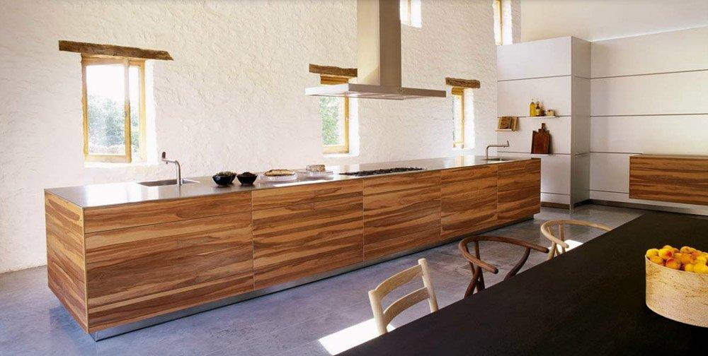 Modular kitchens kitchen bulthaup b3 e by bulthaup for Prix cuisine bulthaup