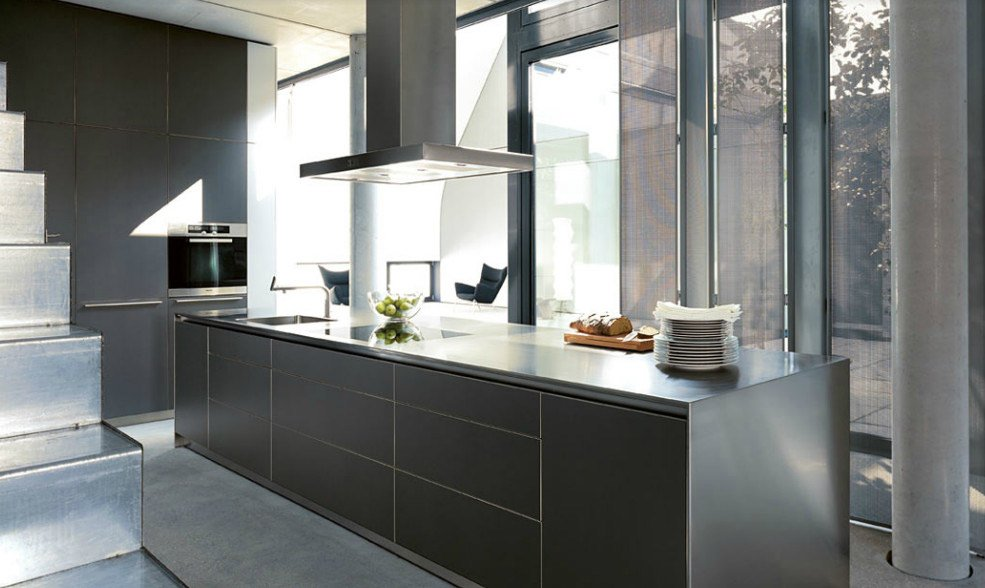 modular kitchens kitchen bulthaup b3 b by bulthaup. Black Bedroom Furniture Sets. Home Design Ideas