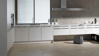 Küche Quarz Woodline