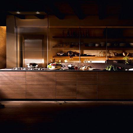 Küche Artematica Noce Tattile