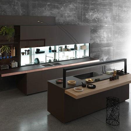 Kitchen Genius Loci [b] by Valcucine