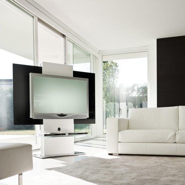 Mobili Tv Design : Tv mobili design mobile porta laccato nero dany ...