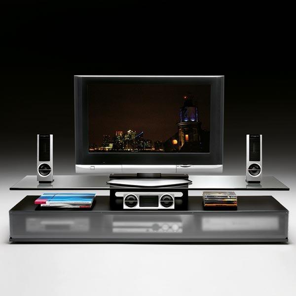 Mobili porta tv e hi fi porta tv kristal da fiam for Outlet webmobili