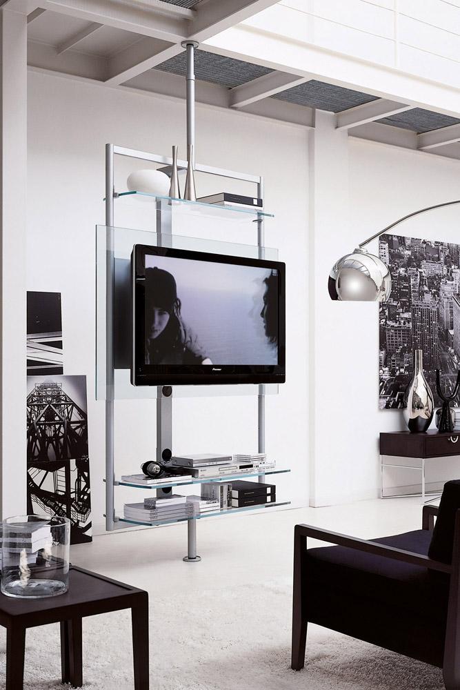 Mobili porta tv e hi fi porta tv ubiqua da porada - Porta tv a soffitto ...