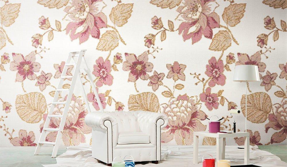Mosaico: Mosaico Marella Rose da Bisazza