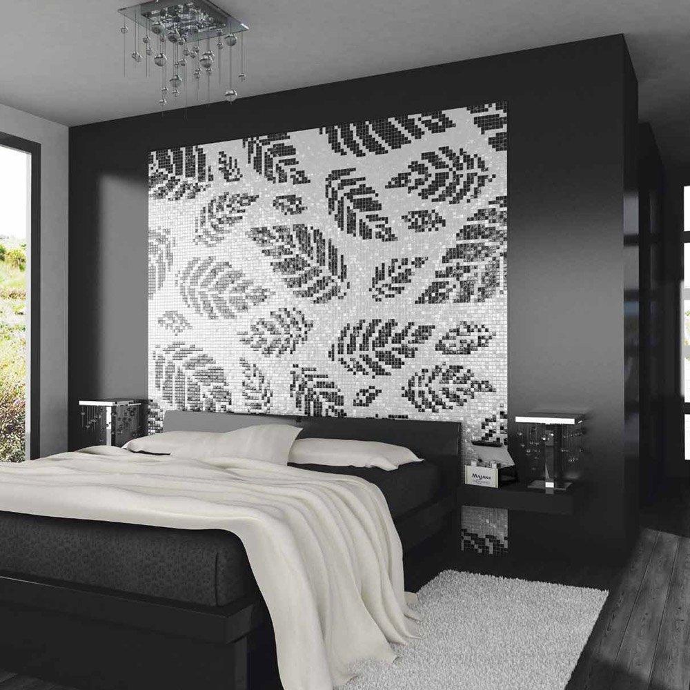 mosaico mosaico bianco e nero portanova da pixel