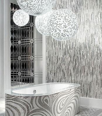 Mosaico Fibers art
