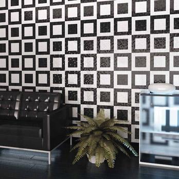 Mosaico Bianco e Nero - Fiera