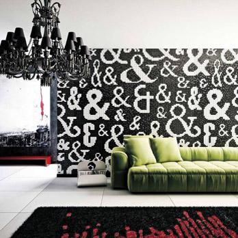 Mosaico Bianco e Nero - Commerciale