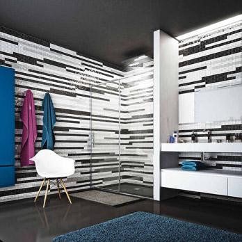 Mosaico  Bianco e Nero - Zen