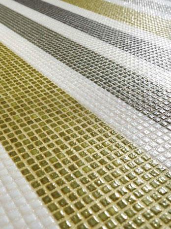 Mosaico I Frammenti Vetro Barcode
