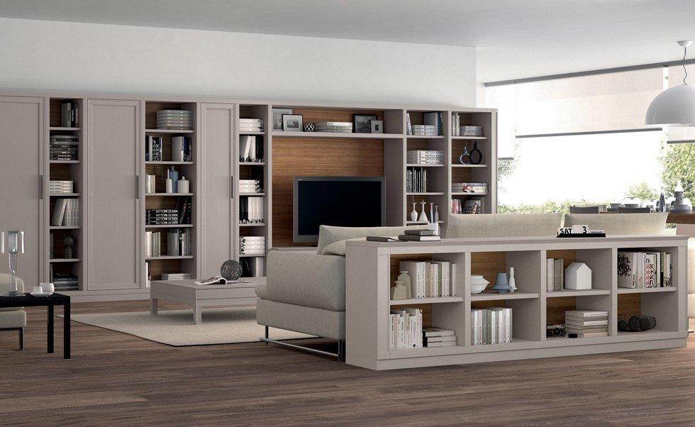 Letto Viola Le Fablier: Parete soggiorno moderna ikea mobili per ...