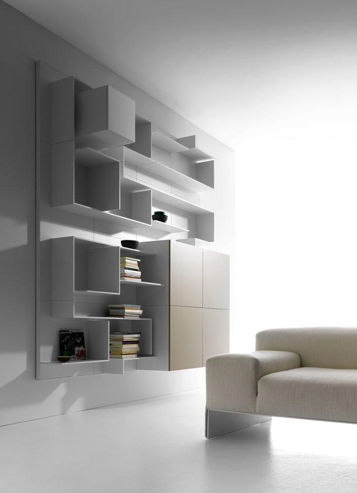 pareti attrezzate composizione vita da mdf italia. Black Bedroom Furniture Sets. Home Design Ideas